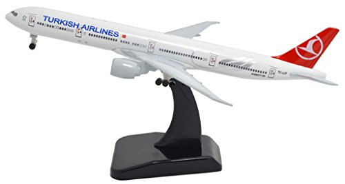 Tang Dynasty Tm  1 400 Standard Edition Boeing B777 Turkish Airlines Metal Airplane Model Plane Toy Plane Model