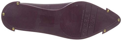 Spice Burgundy Melissa Women's Flat Point Toe 7FZZR5xfw