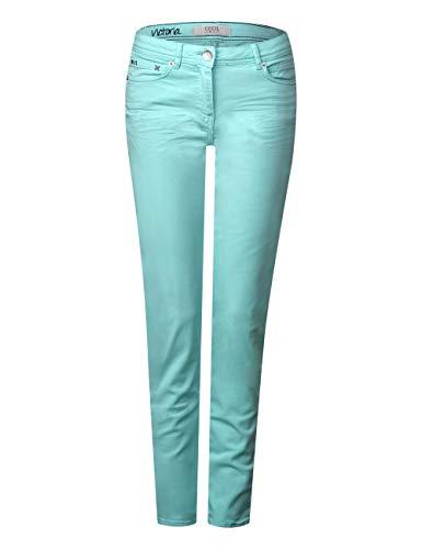 Mujer Para neo Pantalones Cecil Grün 11611 Mint Fx58w