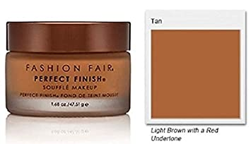 Fashion Fair Oil-Free Perfect Finish Souffle Makeup – Tan