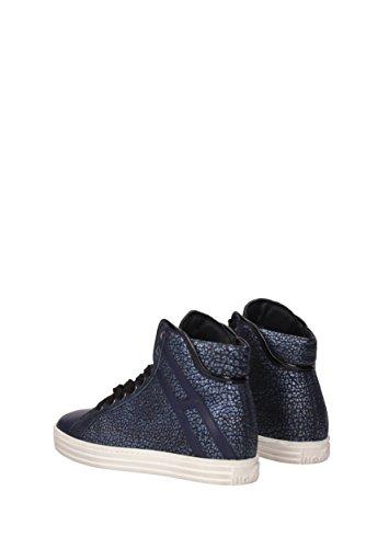 EU HXW1820I651E6O Blu Sneakers Hogan Donna rebel Pelle qvxBw