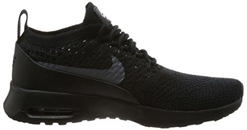Flyknit Thea Max NIKE Sneaker Ultra Black Schwarz Dark Air Grey Damen f1wxq7O
