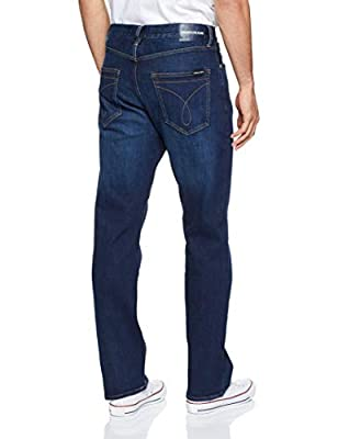 Calvin Klein Jeans Men's Ckj 037 Relaxed Straight Fit