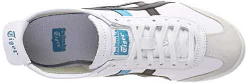 Asics Mixte black 100 white Chaussures Fitness Blanc Messico De Adulte 66 nXOfXqr