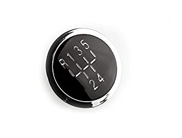 58935 Gear Knob Emblem 5 Speed Gear Knob Cap Decal Trim Badge R TOOGOO