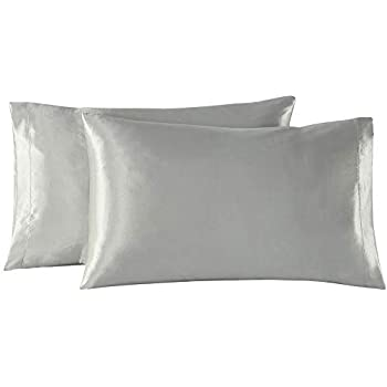 Amazon Com Exq Home Satin Pillowcases Set Of 2 For Hair