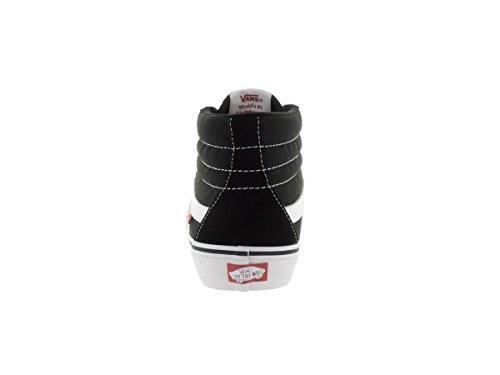 Hi Vans Sk8 black Herren Hightop Sneaker white qEZ0E