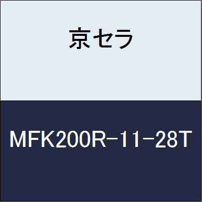 京セラ 切削工具 カッター MFK200R-11-28T  B079Y3PRYS