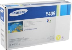 Samsung Genuine Brand Name, OEM CLTY409S (CLT-Y409S/XAA) Yellow Toner Cartridge (1K YLD)