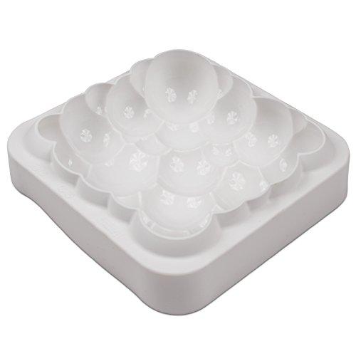Silikomart Cloud White Silicone Non-Stick Mold by Silikomart (Image #3)