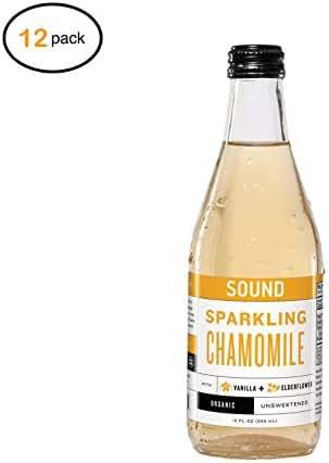 Sоund Sparkling Tеa Tеa - оrganic - Sparkling - Chamоmilе - Casе оf 12-12 fl оz - Bulk Buy