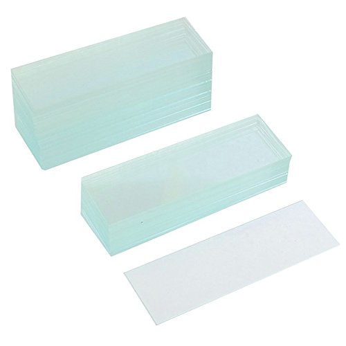SODIAL(R) 50 Pcs Pre-cleaned Microscope Blank Glass Slides 1x3 inch 118056