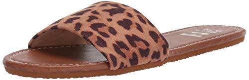 Billabong Cheetah - Billabong Women's High Tide Slide Sandal, Cheetah 6 Medium US