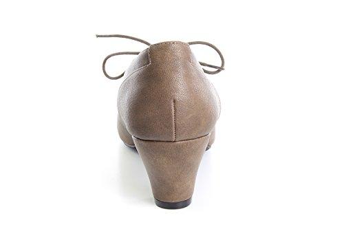 Andres Machado.AM4034.Zapatos estilo Oxford para Mujeres. Tallas Grandes y Pequeñas.32/35.42/45 Siena