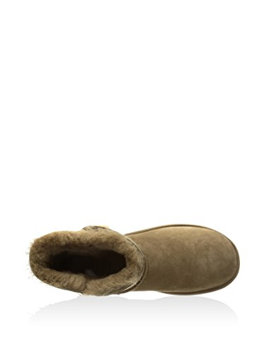 Ugg Mini Bailey Button 3352 Donna Slip-on Kaki