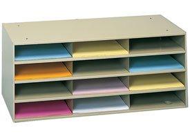 Durham Steel Literature Organizer - Durham Steel Literature Organizer - 33-3/4 X11-5/8 X14-1/4