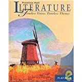 Timeless Voices, Timeless Themes, PRENTICE HALL, 0134340574