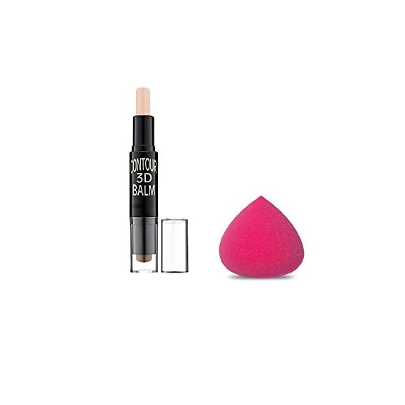 The Cosmetic Town Concealer Bronzer Highlighter Stick 3D Contour Balm Shadow Base Cosmetic Face Primer Makeup Cream