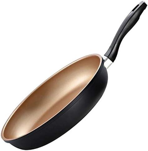蓋/ 12.36x2.36inchesを有する蓋/テフロン加工のフライパンを有する蓋/セラミックチタンコーティング/銅フライパンで超小型テフロン加工のフライパン wok