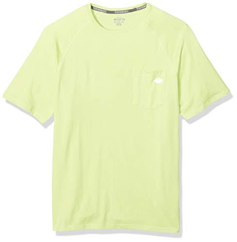 (Dickies Men's Short Sleeve Performance Cooling Tee, Wild Lime, L)