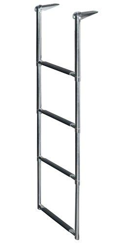 JIF Marine DMX4 Telescoping Drop Stainless Steel Ladder, 4-Step (Windline 4 Step)