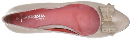 Aquatalia Mujeres Ola Flat Blush Patent