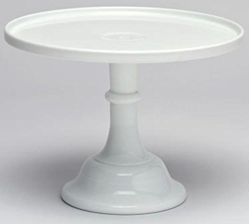 Cake Plate Round Plain & Simple Mosser Glass (10