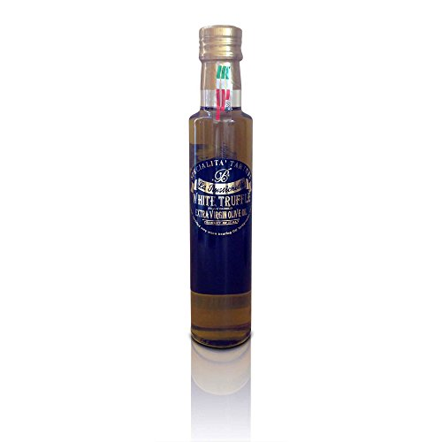 La Rustichella - White Truffle Olive Oil - Large (250 ml, 8.4 fl oz) - Kosher