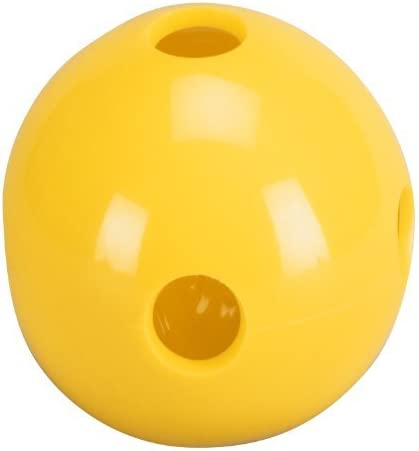 Total Control Sports Hole Ball (Pack of 48), 黄