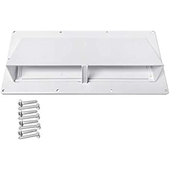 Camp'N RV Exhaust Vent Cover - RV Range Hood Vent/RV Range Hood Cover (White)