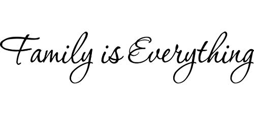 Family is Everything Decals Wall Decal Quotes Home Decor Vinyl Quotes Designs Family Wall -