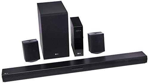 LG SJ4R Barra de Sonido, Color Negro