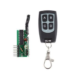 Buy 4 Key Wireless RF Remote Control 315MHZ Receiver Module for