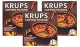 Krups F15C02-3PK Coffeemaker/Urn Paper Filter, 300 Pack