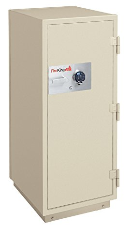 Fireking 2-Hour Fire with Impact & Burglary Rated Safe, 60.5'' H x 25.5'' W x 28.88'' D/11.2 cu. ft., Taupe by FireKing