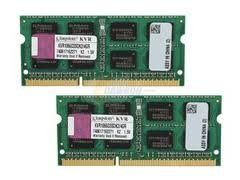 Kingston ValueRAM 4GB 667MHz DDR2 Non-ECC CL5 SODIMM (Kit of 2) Notebook Memory