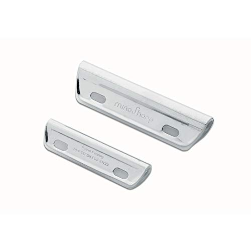 Global MinoSharp Guide Rails with Liners 463, Set of Two