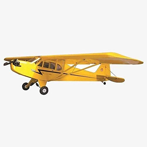 VMAR J3 Cub 80 ARF Plane Kit Two-Piece Aluminum Wing Joiner Main 80.5mm and Tailwheel - Airplane Arf Rc Plane