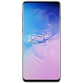 Samsung Galaxy Cellphone – S10 – Verizon – (Prism Blue, 128GB) (Renewed)