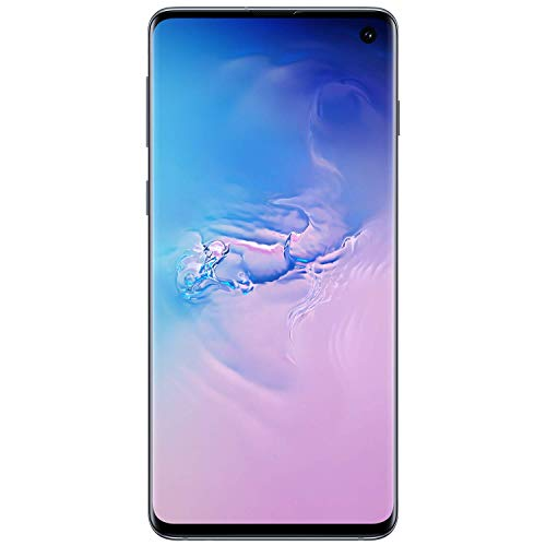 Samsung Galaxy S10, 128GB, Prism Blue - Fully Unlocked (Renewed)