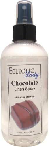 Chocolate Linen Spray, 16 ounces