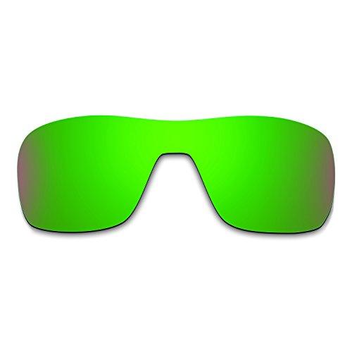 Hkuco Mens Replacement Lenses For Oakley Turbine Rotor Sunglasses Emerald Green - Oakley Rotor Lenses Turbine