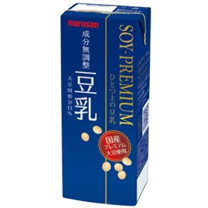 Soi premium one on the soy milk component unadjusted paper pack 200mlX24 pieces 2 cases of by One on soy milk