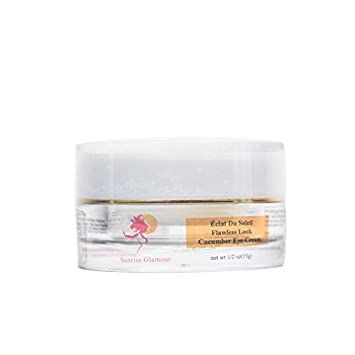 Cucumber Eye Cream Moisturizes and Softens the Skin 1 2 Oz by Eclat Du Soleil