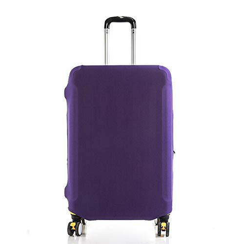 1 Piece Polyester Luggage Cover Protector Travel Luggage Elastic Cover Washable Suitcase Cover Luggage Sleeve Fits 19-21…
