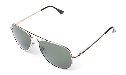 Peppers MP5705-8 Freeway Polarized Sunglasses, Gold/G15 Lens, - 15 Sunglasses