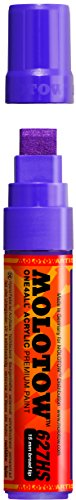 Molotow ONE4ALL Acrylic Paint Marker, 15mm, Currant, 1 Each (627.207)