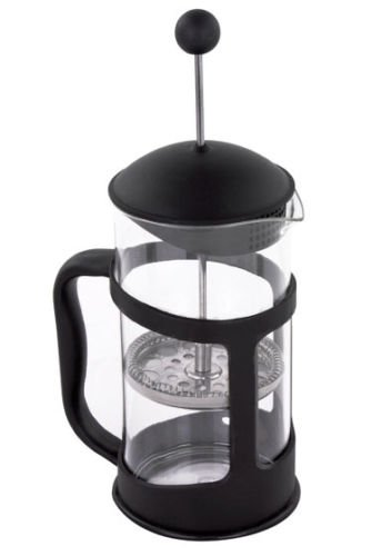 French Press Coffee and Tea Maker with Stainless Steel Filter, 34 oz. / 1000 mL (Duncan Donuts K Cups Decaf)