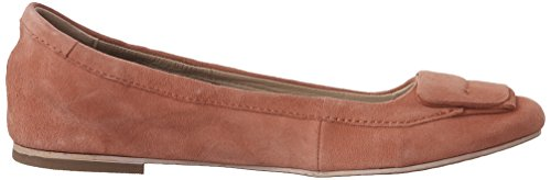 Hush Puppies Womens Livi Heather Ballet Flat Coral Suede