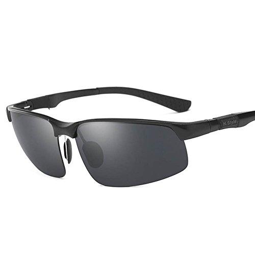 Polarizadas Gafas De Conductor Gafas Gafas Espejo De Hipster De RPFU Sol De Estilo Sol BlackFrameBlackGrayLens Hombres Blackframeblackgraylens Los Conducción 0zqddw
